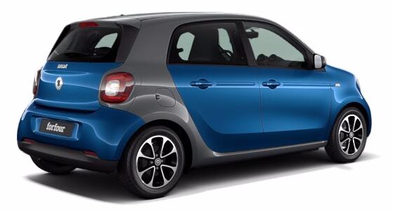 Smart Forfour Elektrisch Hatchback
